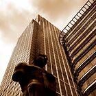 Canary Wharf Sculpture, London by Chris Millar