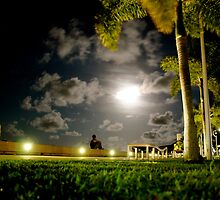 Fly From Nearby - Cairns at Night by oliverforbes