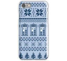A Tardis Christmas iPhone Case/Skin