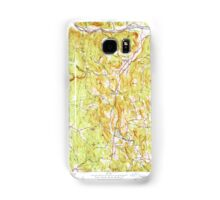 Massachusetts  USGS Historical Topo Map MA Ashfield 351479 1955 31680 Samsung Galaxy Case/Skin