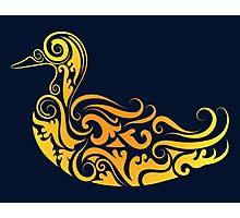 Duck pattern decoration Photographic Print