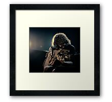 Metheny Live !! Framed Print