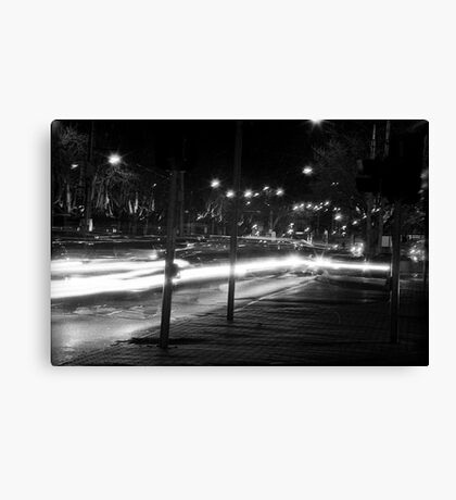 "Melbourne - ""Streetscape"" #2 Canvas Print"