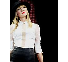 Taylor Swift Red Tour Photographic Print