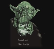 Star Wars Yoda Quote - Do or Do not, There is No Try T-Shirt