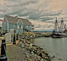 Pictou Waterfront by Kathleen   Sartoris