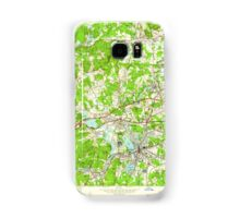 Massachusetts  USGS Historical Topo Map MA Framingham 350145 1950 24000 Samsung Galaxy Case/Skin