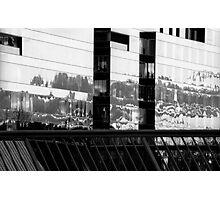"Melbourne - ""City Building Reflections"" Photographic Print"