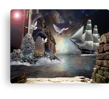 The Grey Havens farewell.. Canvas Print