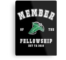Fellowship (black tee) Metal Print