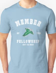 Fellowship (black tee) Unisex T-Shirt