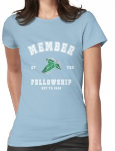 Fellowship (black tee) Womens Fitted T-Shirt