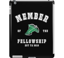 Fellowship (black tee) iPad Case/Skin