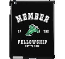 Fellowship (black tee) iPad Case/Skin
