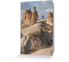 Stone Camel - Capadoccia Turkey Greeting Card