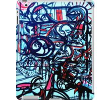 Psychedelic Cityscape iPad Case/Skin
