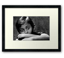 Look Into My Eyes.... Framed Print