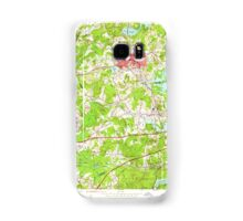 Massachusetts  USGS Historical Topo Map MA Marlboro 350276 1953 24000 Samsung Galaxy Case/Skin