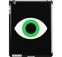 Green eyes iPad Case/Skin