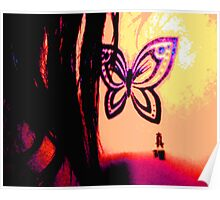 Butterfly Shay Poster