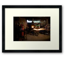 All Sparks Framed Print