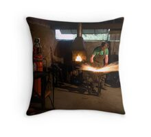 All Sparks Throw Pillow