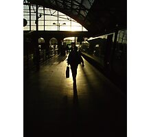 Arriving at Lime Street Station Photographic Print