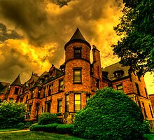 Castles of Brookline, Ma  - I by LudaNayvelt