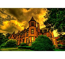 Castles of Brookline, Ma  - I Photographic Print
