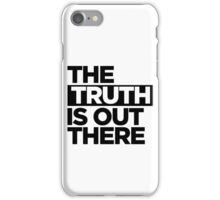 TRUTH. iPhone Case/Skin