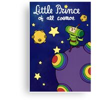Little Prince of All Cosmos Canvas Print
