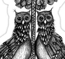 The owls of Athena Sticker