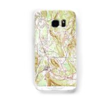 Massachusetts  USGS Historical Topo Map MA Ashley Falls 349956 1958 24000 Samsung Galaxy Case/Skin