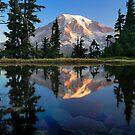 Rainier Reflected by Inge Johnsson
