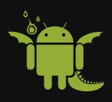 Android Dragon One Piece - Short Sleeve