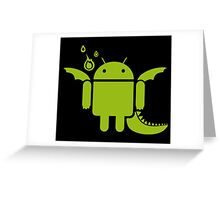 Android Dragon Greeting Card
