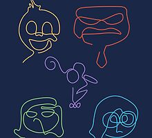 Emotional Lines by Julien Missaire