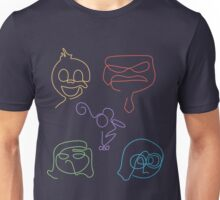 Emotional Lines Unisex T-Shirt