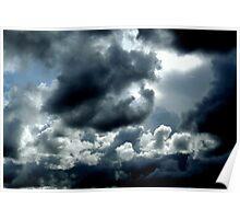 Dark Lips Foreboding Storm  Poster