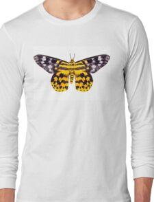butterfly moth Dysphania subrepleta isolated  Long Sleeve T-Shirt