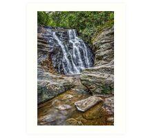 upper cascades | hanging rock Art Print