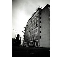 From the bottom up - hospital Photographic Print