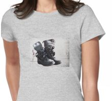 Am I bovvered? Womens Fitted T-Shirt