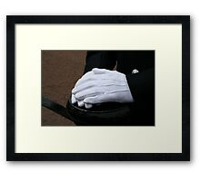 PC Dean at Trooping the Colour 2010 Framed Print