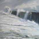 Middleton Breakwater, Hartlepool by Sue Nichol