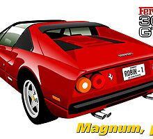 Ferrari 308 GTS from Magnum, p.i. by car2oonz