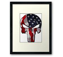 American Punisher Framed Print