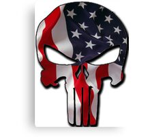 American Punisher Canvas Print
