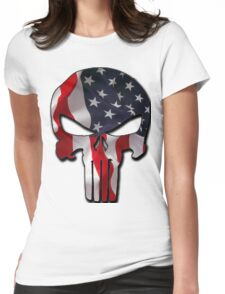 American Punisher Womens Fitted T-Shirt
