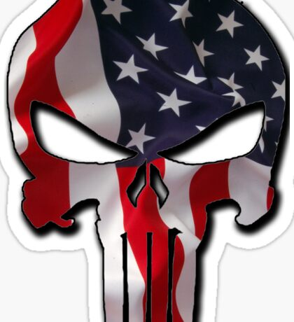 American Punisher Sticker